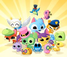If you know the game animal jam then you will know what this is. They are pets