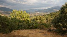 Vista del valle desde la aldea.