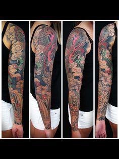 Japanese Traditional sleeve