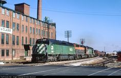 RailPictures.Net Photo: BN 6623 Burlington Northern Railroad EMD F45 at Ashland, Ohio by Mike Woodruff