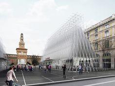 Milano EXPO 2015 Info Point Winning Proposal / Scandurrastudio  #TuscanyAgriturismoGiratola