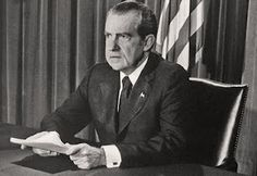 """APRIL 22, 1994 - """"Richard M. Nixon, the 37th president of the United States -- a polarizing figure who won a record landslide and resigned in disgrace 21 months later -- died last night in a New York City hospital four days after suffering a stroke. He was 81."""" Read more: http://www.washingtonpost.com/wp-srv/national/longterm/watergate/stories/nixobit.htm"""