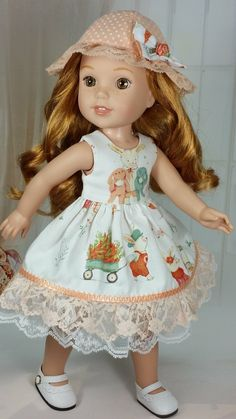 Diy Dollhouse, Dollhouse Furniture, Boy Doll, Girl Dolls, Doll Dresses, Flower Girl Dresses, American Girl Wellie Wishers, Wellie Wishers Dolls, American Girl Clothes