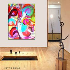 Kim Bosco, contemporary abstract on mausart. Great colors!