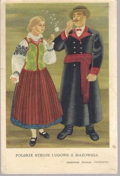 Collection of ethnographic postcards from the beginning of century and the inter war period numbers over items Folk Costume, Costumes, Polish Folk Art, Ethnic Outfits, Ethnic Clothes, Art Google, Traditional Outfits, Poland, Arts And Crafts