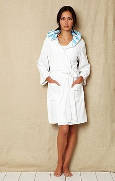Nautica Terry Hood Robe