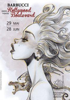 Alessandro Barbucci avec Ekhö Monde Miroir expose à Bruxelles - http://www.ligneclaire.info/barbucci-bruxelles-26646.html