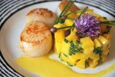 Saint Jacques en vinaigrette de mangue | Cuisine plurielle