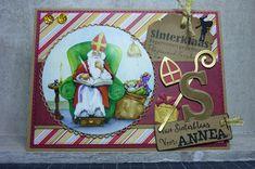 Eri's Kaartenblog!!: Van Sinterklaas voor Annea!!