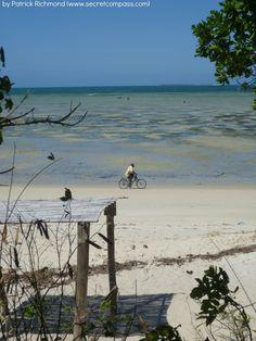 Man on bike, Quirimbas National Park, Mozambique. Courtesy of Patrick Richmond (www.secretcompass.com)
