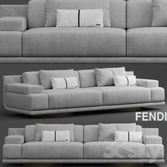 Sofa fendi casa artu sofa