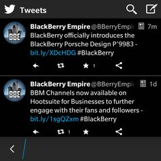 """Twitter for BlackBerry 10 updated, adds a beautiful """"Night Mode"""" theme and In-Line Actions - http://blackberryempire.com/twitter-blackberry-10-updated-adds-beautiful-night-mode-theme-line-actions/ #BlackBerry #Smartphones #Tech"""
