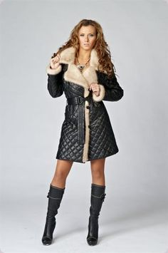 Кожанное женские пальто женские куртки Outerwear Women, Winter, Sweaters, Womens Fashion, Jackets, How To Wear, Dresses, Fur Coat, Women's Fashion