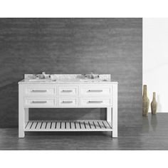 Home Decorators Collection - Paige 60 Inch Vanity - PAIGE 60 - Home Depot Canada