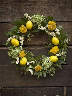 Davia: Creekside Farms, Lemon Wreath