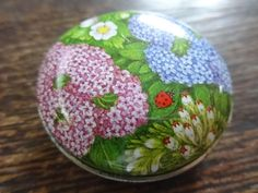 Vintage French Pill Box Jewelry Jewellery Trinket Small Storage Pot Tin Container OTHERS ALWAYS AVAILABLE c1980-90's