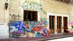 Buenos Aires Street Art | En el pasaje Giuffra