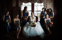 ♡ stunning ♡ bridesmaids shot | wedding photography by #littlefangphoto #ideas #poses #fun #group