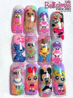 Nail Manicure, Pedicure, Beauty Spa, Fabulous Nails, New Girl, Nail Designs, Nail Art, Cartoon, Ideas