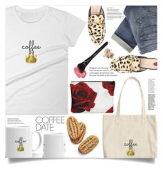 """""""Buzz-Worthy: Coffee Date (24)"""" by samra-bv ❤ liked on Polyvore featuring Gucci, Paige Denim and Bobbi Brown Cosmetics"""