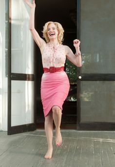 The Help's, Celia (Jessica Chastain) she is one of my favorite fiction characters ever.