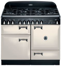 AGA Legacy Ivory with solid doors
