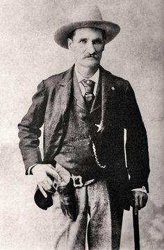 John Selman, the man who shot and killed John Wesley Hardin in the Acme Saloon Bar in El Paso in August, 1895.
