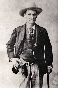 John Selman, the man who shot and killed John Wesley Hardin in the Acme Saloon Bar in El Paso in August, 1895.