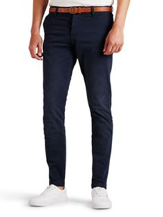 CODY AKM 195 CHINOS, Navy Blazer, large