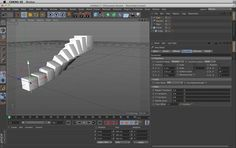 Use effectors with cloners in Cinema4D for a wide range of animated effects. The Plain, Random, and Step effectors are reviewed.