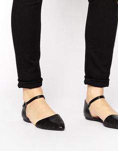 Head over Heels by Dune   Head Over Heels By Dune Holibobs Two Part Strap Shoes at ASOS