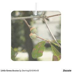 Little Green Acorns Car Air Freshener