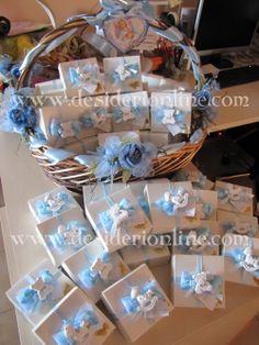 Bomboniere 2013 su www.desiderionline.com Christening Favors, Boy Christening, Baby Baptism, Baby Shower Niño, Baby Shower Themes, Baby Shower Gifts, Shower Ideas, Baby Shawer, Baby Box