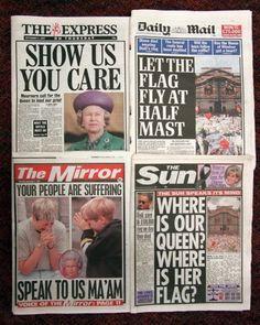 princess+diana+death+photos | Princess Diana's death makes headlines - Princess Diana's Death: A ...