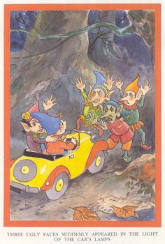 Here Comes Noddy Again by Enid Blyton. Memories from infancy.