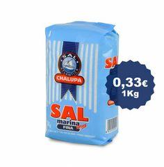 Sal marina fina de 1 kg.