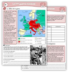 Histoire CM2 : la 1ère guerre mondiale