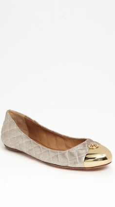 Although I hardly wear flats, they are called the Kaitlin so perhaps it's meant to be... Can't go wrong with tb!