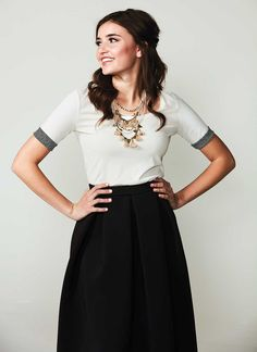 Whether your next project is a simple tee or a tailored wrap dress, these high-end details are sure to give your garment a cool, custom feel inspired by ready-to-wear designs. Find patterns for these extra details on sewnews.com