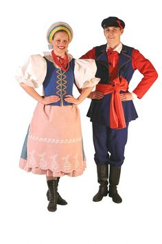 Strój kujawski Costumes Around The World, Folk Costume, Comfy Casual, Historical Clothing, Folklore, Culture, Clothes, Central Europe, Fashion