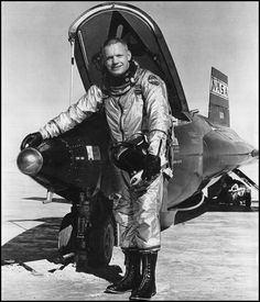 Neil Armstrong X15 Test Pilot