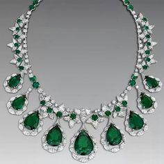 repost via @instarepost20 from @thejewelleryed Making his debut at #biennale de #paris this September @davidmorrislondon Colombian #emeralds #necklace is not to be missed.