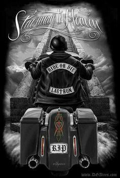 Ride or die Harley Davidson Tattoos, Harley Davidson Pictures, Harley Davidson Wallpaper, Harley Davidson Logo, Harley Davidson Motorcycles, Biker Tattoos, Motorcycle Tattoos, Motorcycle Art, Bike Art