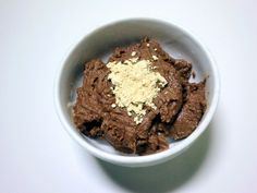 Cookie dough bowl with pb2