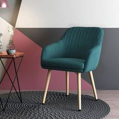 Buy Rochelle Lounge Chair at Urban Ladder. 0% EMI, Free Delivery & Installation. Starting from 5949. Available in Colours: Dark Aqua, Purple