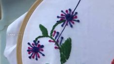 Hand Embroidery Video: French Knot Stitch by Amma Arts - YouTube