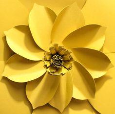 Fleur en papier géant fleur papier toile de fond par APaperEvent