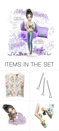 """● PURPLE RAIN"" by paty ❤ liked on Polyvore featuring art"