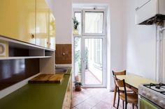 schöne helle küche in berlin neukölln. wg-zimmer in berlin ... - Küchen Mit Gasherd