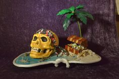 """Secrets of Old Bone Island"" by Debby Weaver. 2015 Smallest Parade"